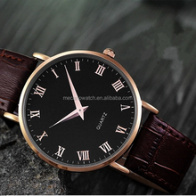 2015 Newest Arrival high quality contemporary alloy lover watches with leather strap