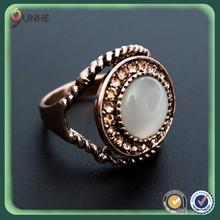 Latest gold ring designs gemstone gold ring