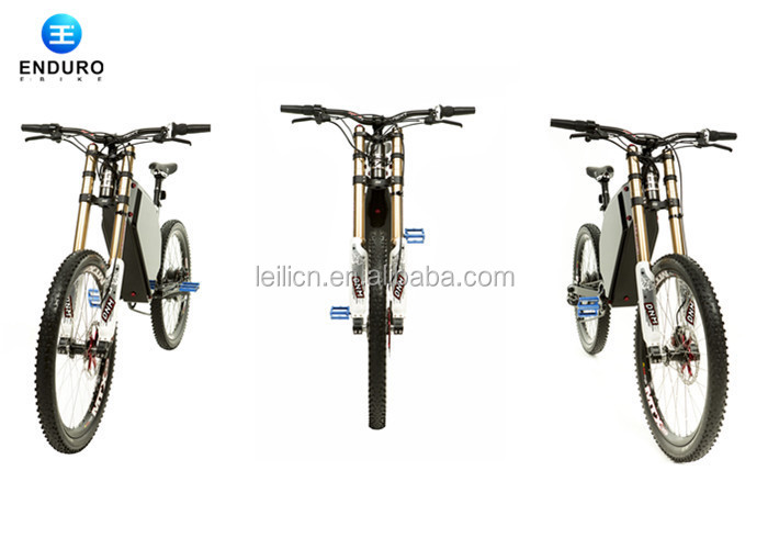 Full suspension electric bicycle / bike 72v 5000w electric downhill ...