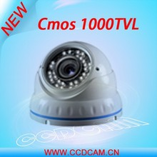Hot analog cmos 1000 tvl vandalproof home security dome cctv video surveillance camera