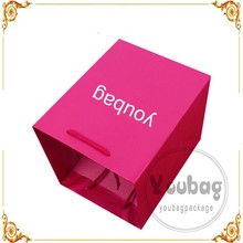 small paper bags with handles,pink paper bag, wedding paper bag