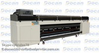 Docan roll to roll wide format printer printing machine, Banner uv printer