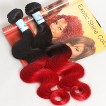 5A 6A 7A 8A Grade 100% human virgin red color peruvian hair weaving
