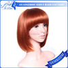 2015 new products wig, synthetic hair platinum wig, short cut bright color fashion wigs party