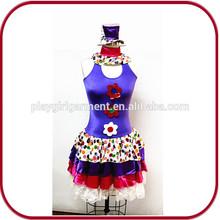 De Halloween cosplay del traje del payaso sexy traje de carnaval para para PGFC-2525