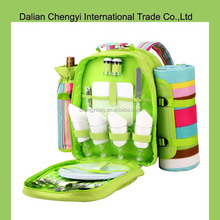 Fashion color hot good quality picnic bags