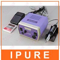 Professional Electric Nail File Acrylic Pedicure Drill Sand Machine Kit Band Set light manicure drill portable