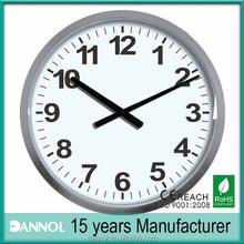 بوصة 20 50cm كبيرة الحجم الكوارتز ساعة الحائط البلاستيكية/ reklam duvar الساعاتي