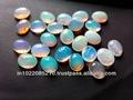ethiopan natural opal cab 8x10 mm oval 10 piezas
