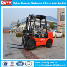 3 Ton diesel forklift/forklift attachment high quality and competitive price