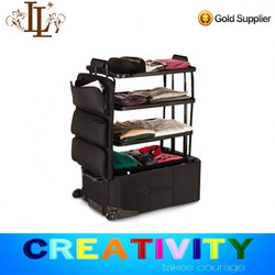 2016 new product Foldable shelfpack/soft trolley luggage