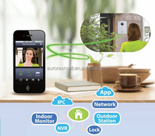 2015 Design Wireless Video Wifi Intercom System