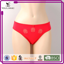 Hot Sale Elegant Comfortable High Cut Printed Chinese Women Sex Panties