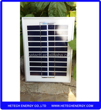Portable 3w 10v mini solar panel from china manufacturer with low price