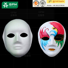 Hot selling plain masks decorate with low price
