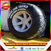 Customized giant inflatable tire advertising with lower price on sale