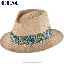 Mens Madagascar Raffia Hats