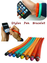Hot Touch Screen Stylus Bracelet Silicone Pen