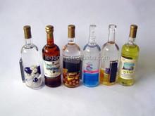 Custom Top Selling Promotional Acrylic Fridge Magnet, Bottle Shape Fridge Magnet