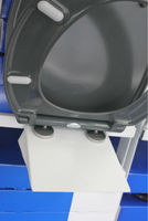 Display stands for WC toilet seats