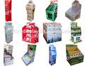 tableta de soporte de exhibición de cartón de visualización vertical para todo uso en el supermercado