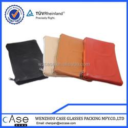 WZ Personalized leather sunglasses bag with glass shape EVA LB65