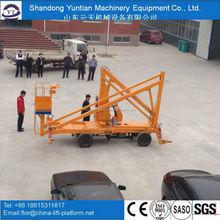 Telescopic hydraulic boom lift / Crank arm lift platform for sale