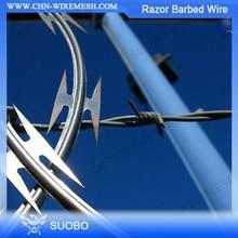 Razor Fencing Wire Combat Wire/Razor Wire Installation/Alambre De Pua(factory price)