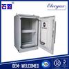 "China origin heat insulation enclosure/aluminum equipment rack/SK-65100/weatherproof telecom cabinet with 19"" rack and cooling"