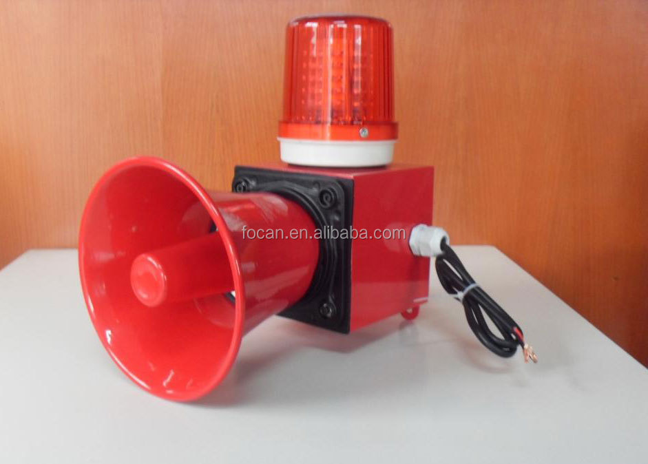 Combined Alarm sounder & L.E.D. beacon, View Combined ...