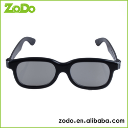 Attractive Recycle black frame 3D Glasses for Cinema