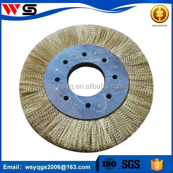 Carbon Brass Steel Wire Brush With Copper Coating - Buy Carbon Steel ...