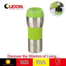 Stainless steel thermos mug travel