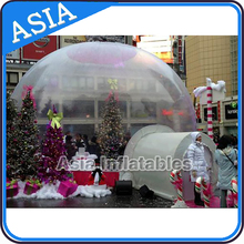 Outdoor Champing Bubble Tent Clear Inflatable Lawn Tent, Affordable Inflatable Bubble Tree Dome Tent for Business or Wedding