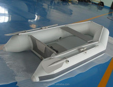 Inflatable Semi-rigid bimini top rib canopy Aluminium floor Fishing boat
