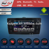HuiFei Android Car Radio with GPS for Skoda Octavia 4.2.2 OS Mirror Link Capacitive Touch Screen Multipoint support OBD2