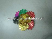 mixture shining sequin design kids flower