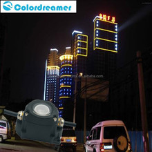 super brightness waterproof color changing dmx pixel dot , led point light for outdoor facade