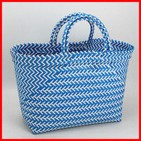 Fashion plastic best beach bag tote bag large beach