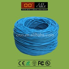 Cat5e FTP Cable CCA 0.40mm 4 Pairs Factory OEM Ethernet Cable