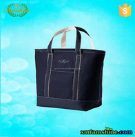 Eco friendly reusable cotton canvas tote bag