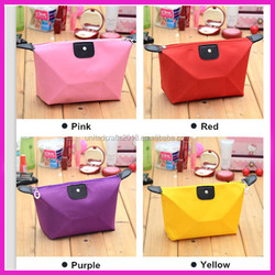 Plain waterproof nylon cosmetic bag/storage/makeup case