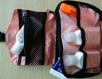 big capacity waterproof foldable travel toiletry case organizer hanging washing cosmetic package bag