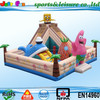 hot sale giant inflatable slide bouncer, commercial inflatable bouncer with slide combo