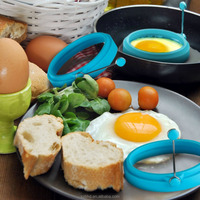 Silicone Egg Pancake Ring Round,Silicone Egg Ring for Egg and Pancake