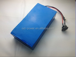 12V 18.2ah lithium ion LED strip rechargeable batteries with li-ion battery charger