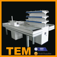 High Quality Double Sided Cash Register Counter For Sale