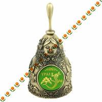 souvenir bells temple bell brass bell with box for souvenir gift