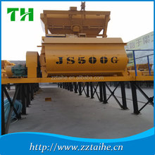 universial high quality lower competitive price JS500 forced concrete mixer