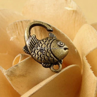 New Arrival hot sale bronze Jewelry Clasp For Necklaces chains LXK020